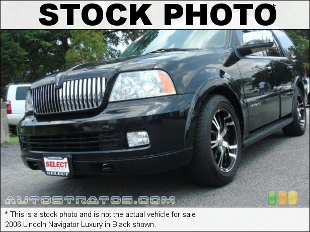 Stock photo for this 2006 Lincoln Navigator Luxury 5.4 Liter SOHC 24-Valve VVT V8 6 Speed Automatic
