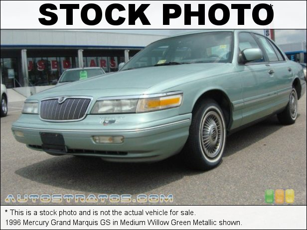 Stock photo for this 1993 Mercury Grand Marquis GS 4.6 Liter SOHC 16-Valve V8 4 Speed Automatic