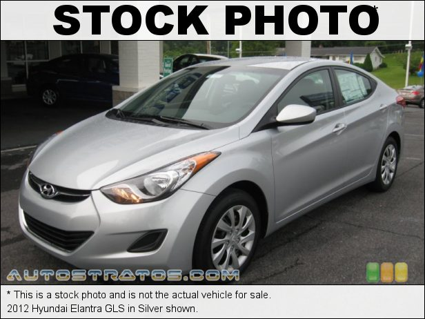 Stock photo for this 2012 Hyundai Elantra GLS 2.0 Liter DOHC 16-Valve D-CVVT 4 Cylinder 6 Speed Shiftronic Automatic