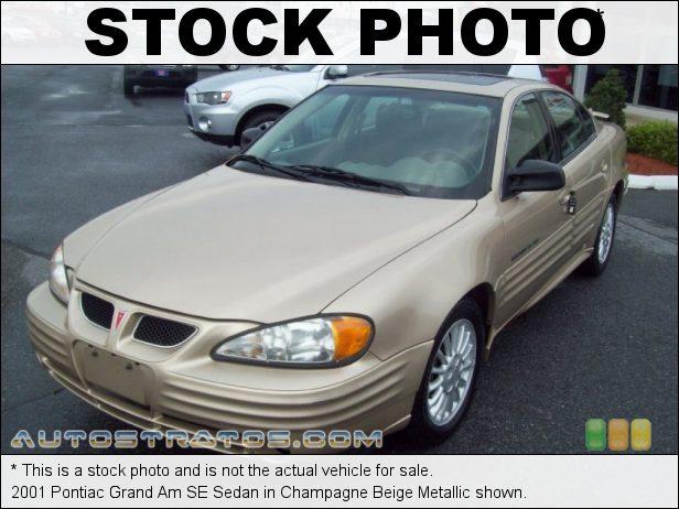 Stock photo for this 2001 Pontiac Grand Am SE Sedan 2.4 Liter DOHC 16-Valve 4 Cylinder 4 Speed Automatic
