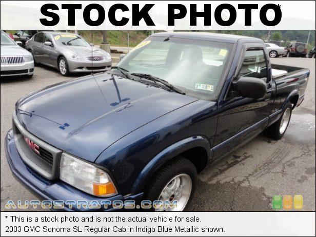 Stock photo for this 2003 GMC Sonoma SL Regular Cab 2.2 Liter OHV 8V 12V 4 Cylinder 4 Speed Automatic