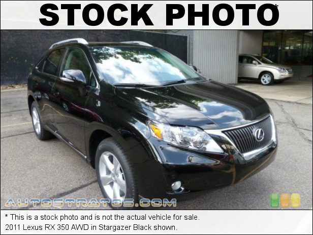 Stock photo for this 2011 Lexus RX 350 AWD 3.5 Liter DOHC 24-Valve VVT-i V6 6 Speed ECT-i Automatic