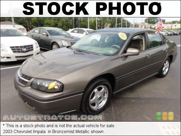 Stock photo for this 2003 Chevrolet Impala  3.8 Liter OHV 12 Valve V6 4 Speed Automatic