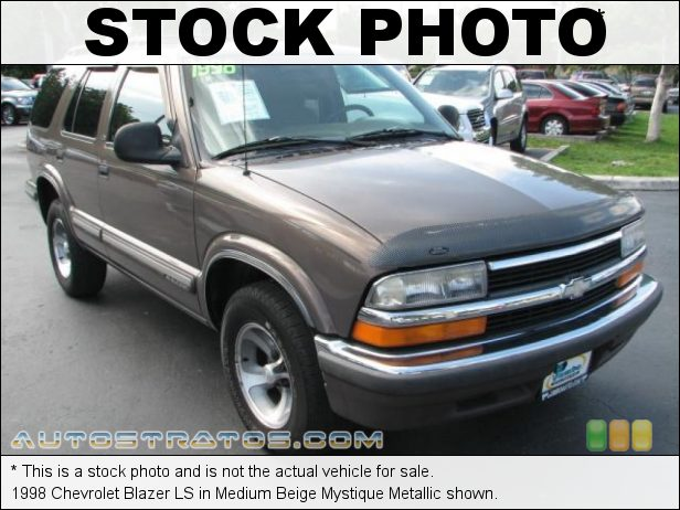 Stock photo for this 1998 Chevrolet Blazer LS 4.3 Liter OHV 12-Valve V6 4 Speed Automatic