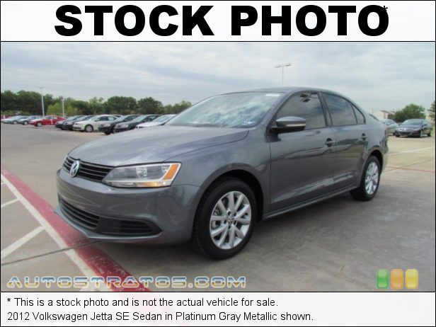 Stock photo for this 2012 Volkswagen Jetta SE Sedan 2.5 Liter DOHC 20-Valve 5 Cylinder 6 Speed Tiptronic Automatic