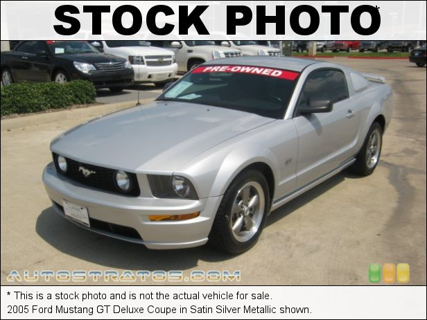 Stock photo for this 2005 Ford Mustang Coupe 4.6 Liter SOHC 24-Valve VVT V8 5 Speed Manual