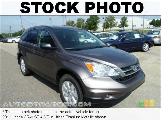 Stock photo for this 2011 Honda CR-V SE 4WD 2.4 Liter DOHC 16-Valve i-VTEC 4 Cylinder 5 Speed Automatic