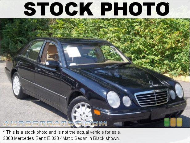 Stock photo for this 2000 Mercedes-Benz E 320 4Matic Sedan 3.2 Liter SOHC 18-Valve V6 5 Speed Automatic