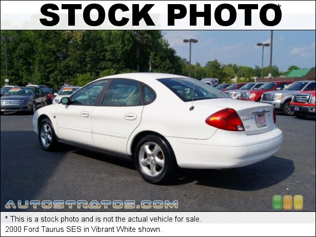 Stock photo for this 2000 Ford Taurus SES 3.0 Liter OHV 12-Valve V6 4 Speed Automatic
