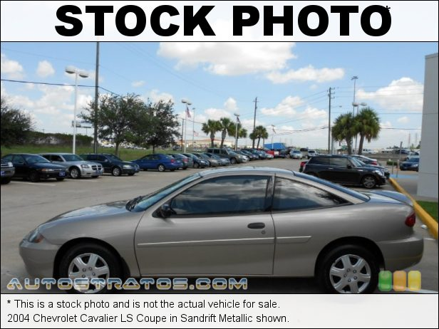 Stock photo for this 2004 Chevrolet Cavalier LS Coupe 2.2 Liter DOHC 16-Valve 4 Cylinder 5 Speed Manual