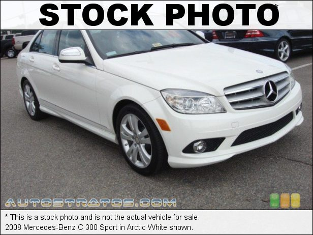 Stock photo for this 2008 Mercedes-Benz C 300 3.0 Liter DOHC 24-Valve VVT V6 7 Speed Automatic