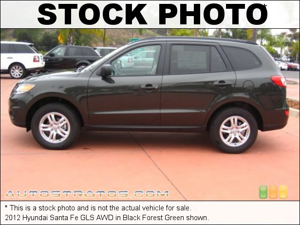 Stock photo for this 2012 Hyundai Santa Fe GLS AWD 2.4 Liter DOHC 16-Valve 4 Cylinder 6 Speed SHIFTRONIC Automatic