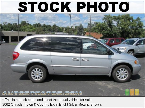 Stock photo for this 2002 Chrysler Town & Country EX 3.8 Liter OHV 12-Valve V6 4 Speed Automatic