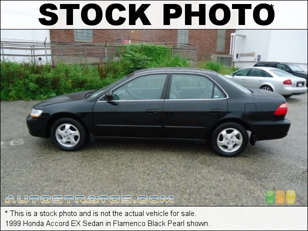 Stock photo for this 1999 Honda Accord EX Sedan 2.3L SOHC 16V VTEC 4 Cylinder 4 Speed Automatic