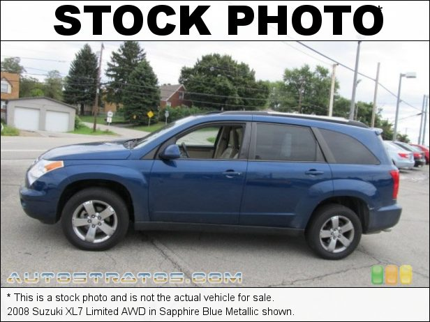 Stock photo for this 2008 Suzuki XL7 Limited AWD 3.6 Liter DOHC 24-Valve VVT V6 5 Speed Automatic