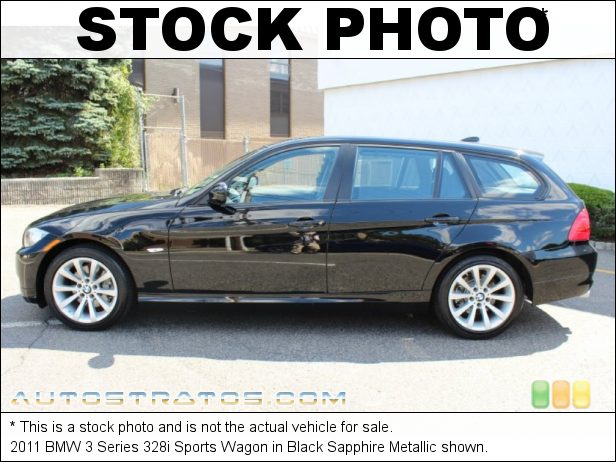 Stock photo for this 2011 BMW 3 Series 328i Sports Wagon 3.0 Liter DOHC 24-Valve VVT Inline 6 Cylinder 6 Speed Steptronic Automatic