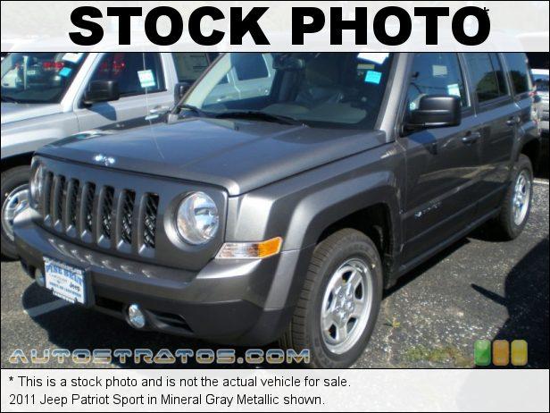 Stock photo for this 2011 Jeep Patriot  2.4 Liter DOHC 16-Valve VVT 4 Cylinder CVT2 AutoStick Automatic