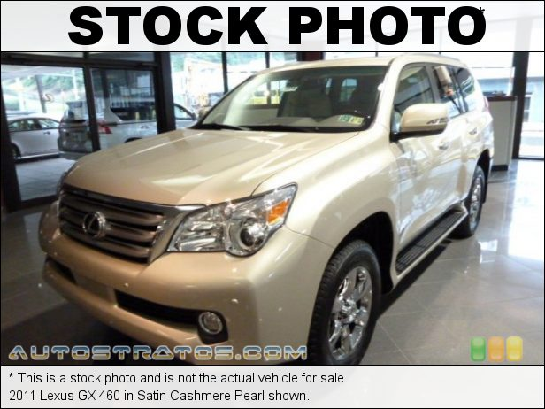 Stock photo for this 2011 Lexus GX 460 4.6 Liter DOHC 32-Valve VVT-i V8 6 Speed ECT-i Automatic