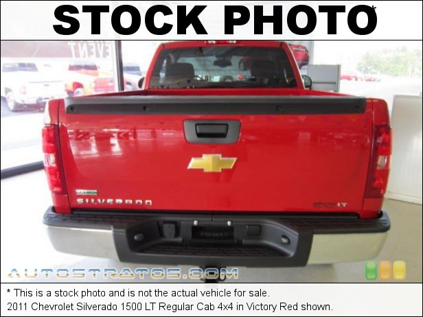 Stock photo for this 2011 Chevrolet Silverado 1500 LT Regular Cab 4x4 5.3 Liter Flex-Fuel OHV 16-Valve VVT Vortec V8 6 Speed Automatic