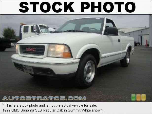 Stock photo for this 1999 GMC Sonoma SLS Regular Cab 2.2 Liter OHV 8-Valve 4 Cylinder 4 Speed Automatic