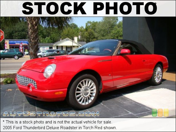 Stock photo for this 2005 Ford Thunderbird Roadster 3.9 Liter DOHC 32-Valve V8 5 Speed Automatic