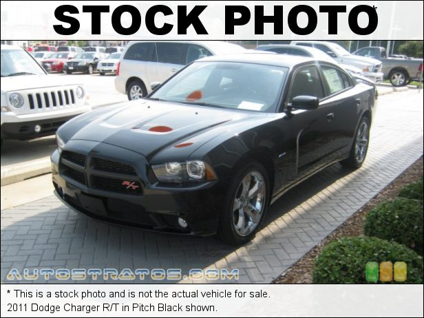 Stock photo for this 2011 Dodge Charger R/T 5.7 Liter HEMI OHV 16-Valve Dual VVT V8 5 Speed AutoStick Automatic