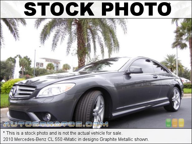 Stock photo for this 2010 Mercedes-Benz CL 550 4Matic 5.5 Liter DOHC 32-Valve VVT V8 7 Speed Automatic