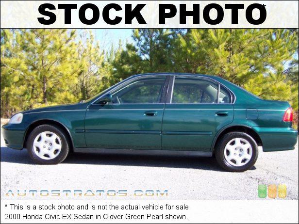 Stock photo for this 1997 Honda Civic EX Sedan 1.6 Liter SOHC 16-Valve 4 Cylinder 4 Speed Automatic