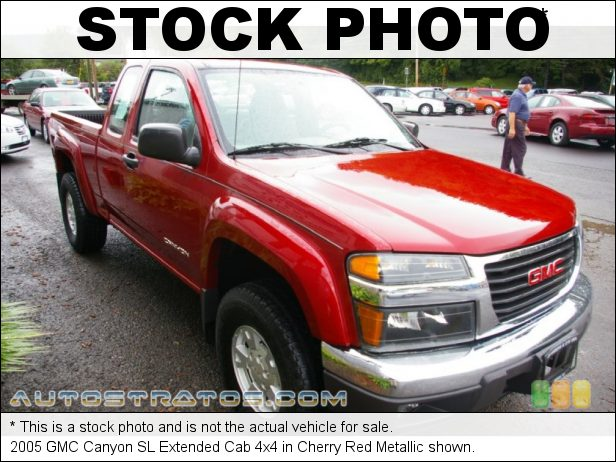 Stock photo for this 2005 GMC Canyon Extended Cab 4x4 3.5 Liter DOHC 20-Valve 5 Cylinder 4 Speed Automatic
