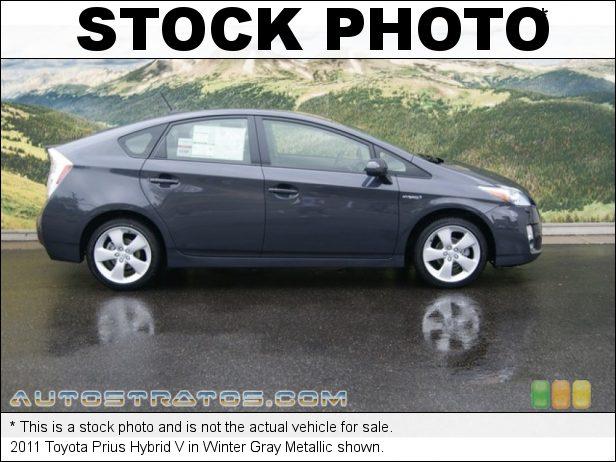 Stock photo for this 2011 Toyota Prius Hybrid 1.8 Liter DOHC 16-Valve VVT-i 4 Cylinder Gasoline/Electric Hybri ECVT Automatic