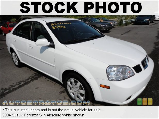 Stock photo for this 2008 Suzuki Forenza  2.0 Liter DOHC 16-Valve 4 Cylinder 5 Speed Manual