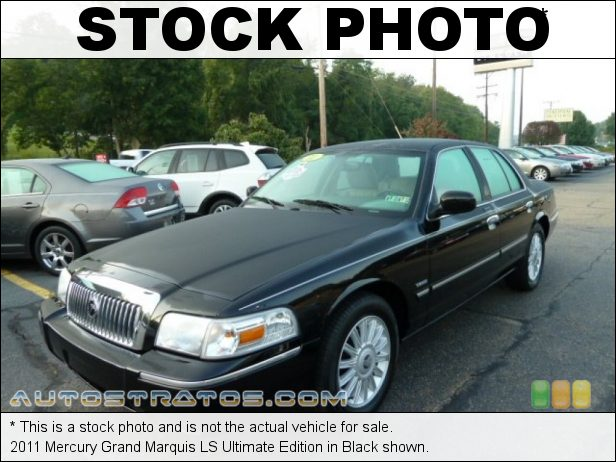 Stock photo for this 2011 Mercury Grand Marquis LS Ultimate Edition 4.6 Liter Flex-Fuel SOHC 16-Valve V8 4 Speed Automatic