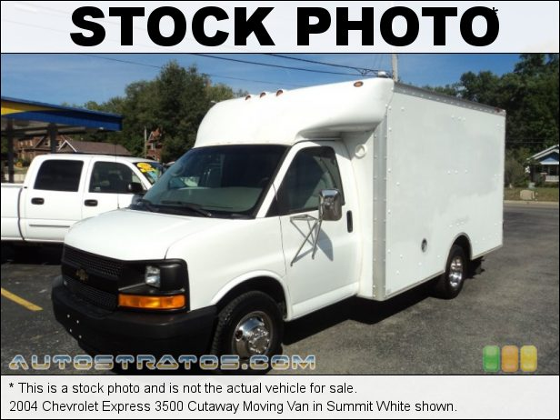Stock photo for this 2004 Chevrolet Express 3500 6.0 Liter OHV 16-Valve Vortec V8 4 Speed Automatic
