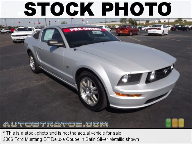 Stock photo for this 2006 Ford Mustang Coupe 4.6 Liter SOHC 24-Valve VVT V8 5 Speed Automatic