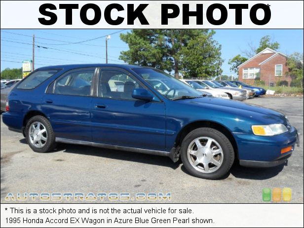 Stock photo for this 1995 Honda Accord EX Wagon 2.2 Liter SOHC 16-Valve 4 Cylinder 4 Speed Automatic