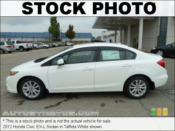 Stock photo for this 2012 Honda Civic EX-L Sedan 1.8 Liter SOHC 16-Valve i-VTEC 4 Cylinder 5 Speed Automatic