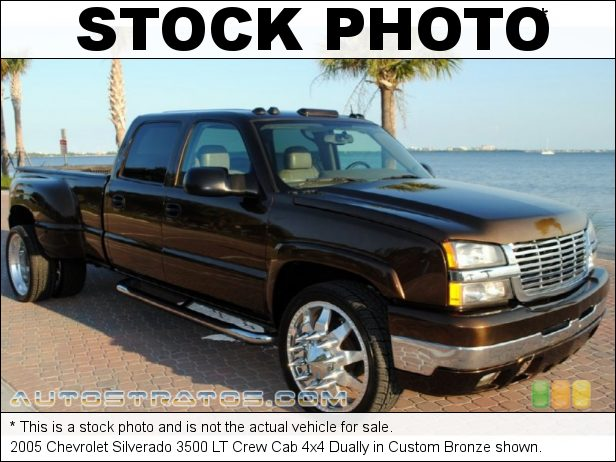 Stock photo for this 2005 Chevrolet Silverado 3500 Crew Cab 4x4 6.6 Liter OHV 32-Valve Duramax Turbo Diesel V8 4 Speed Automatic