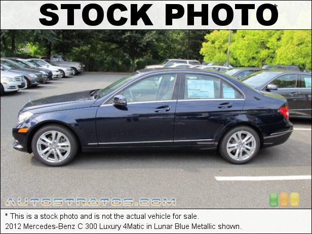 Stock photo for this 2012 Mercedes-Benz C 300 4Matic 3.0 Liter Flex-Fuel DOHC 24-Valve VVT V6 7 Speed Automatic