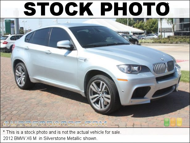 Stock photo for this 2012 BMW X6 M  4.4 Liter M TwinPower Turbocharged HPDI DOHC 32-Valve VVT V8 6 Speed M Sport Automatic