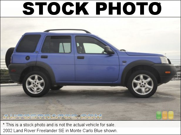 Stock photo for this 2002 Land Rover Freelander SE 2.5 Liter DOHC 24-Valve V6 5 Speed Automatic