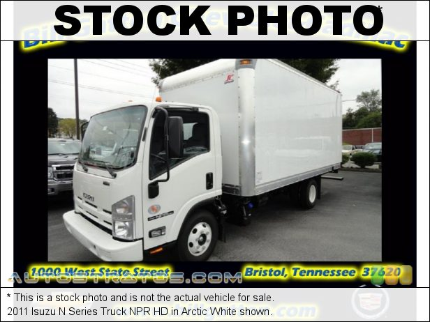 Stock photo for this 2011 Isuzu N Series Truck NPR HD 5.2 Liter OHC 16-Valve Isuzu Turbo-Diesel 4 Cylinder 6 Speed Automatic