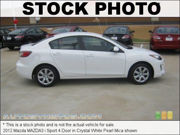 Stock photo for this 2012 Mazda MAZDA3 i Sport 4 Door 2.0 Liter MZR DOHC 16-Valve VVT 4 Cylinder 5 Speed Sport Automatic