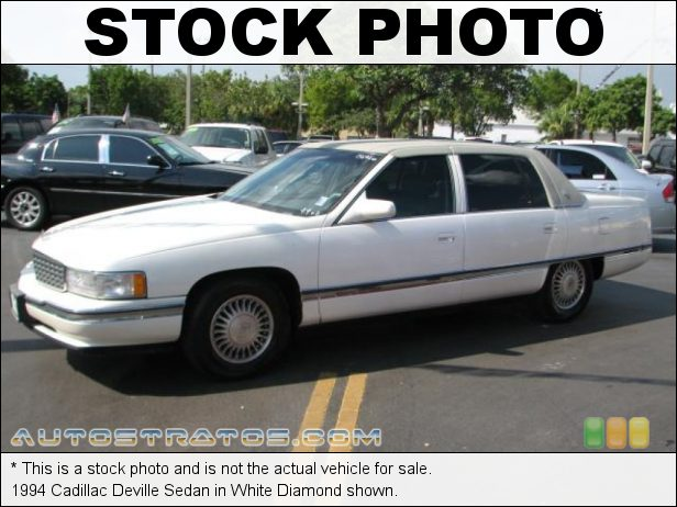 Stock photo for this 1994 Cadillac Deville Sedan 4.9 Liter OHV 16V V8 4 Speed Automatic