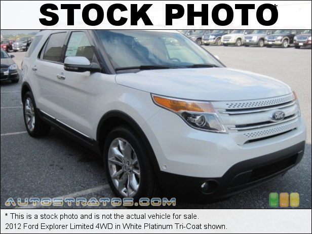Stock photo for this 2012 Ford Explorer Limited 4WD 3.5 Liter DOHC 24-Valve TiVCT V6 6 Speed Automatic