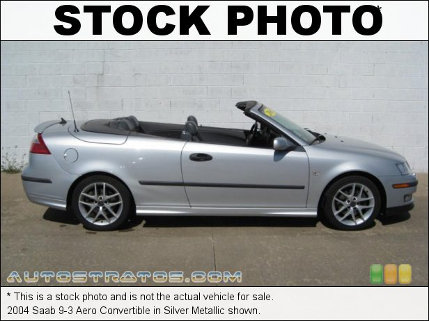 Stock photo for this 2004 Saab 9-3 Aero Convertible 2.0 Liter Turbocharged DOHC 16-Valve 4 Cylinder 5 Speed Automatic