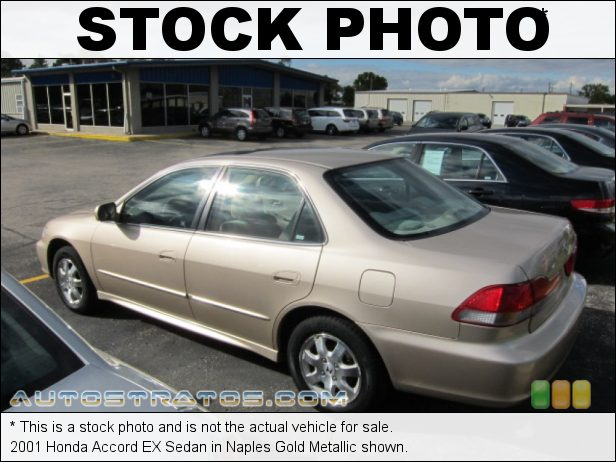 Stock photo for this 2002 Honda Accord EX Sedan 2.3 Liter SOHC 16-Valve VTEC 4 Cylinder 5 Speed Manual