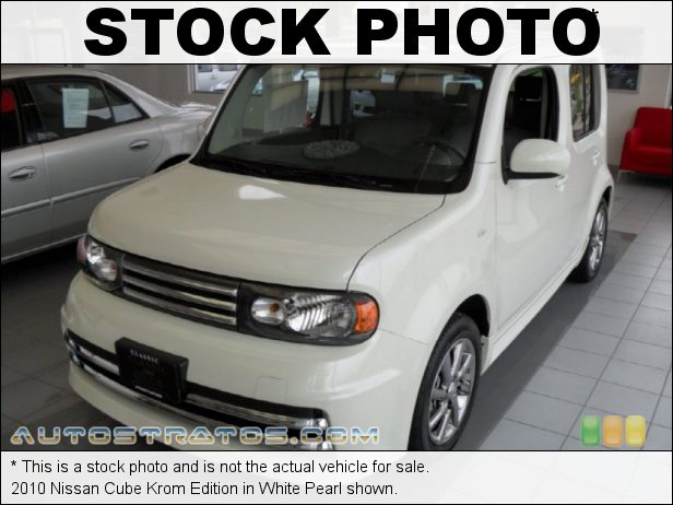 Stock photo for this 2010 Nissan Cube  1.8 Liter DOHC 16-Valve CVTCS 4 Cylinder Xtronic CVT Automatic
