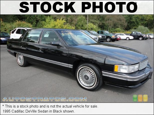 Stock photo for this 1995 Cadillac DeVille Sedan 4.9 Liter OHV 16-Valve V8 4 Speed Automatic