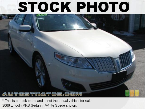 Stock photo for this 2009 Lincoln MKS Sedan 3.7 Liter DOHC 24-Valve VVT Duratec 37 V6 6 Speed Select Shift Automatic