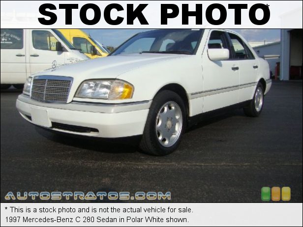 Stock photo for this 1997 Mercedes-Benz C 280 Sedan 2.8 Liter DOHC 24-Valve Inline 6 Cylinder 5 Speed Automatic